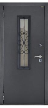 Входная металлическая дверь Стеклопакет