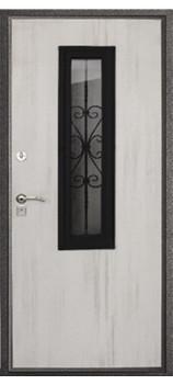 Входная металлическая дверь Стеклопакет 1
